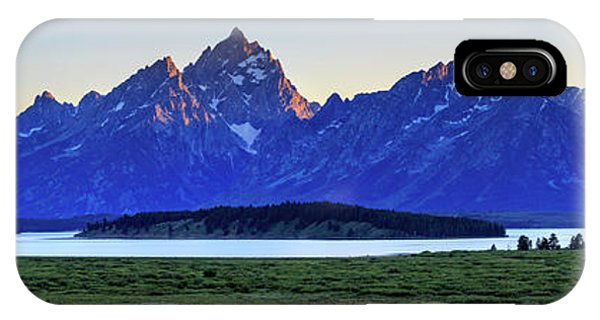 IPhone Case featuring the photograph Teton Sunset by David Chandler