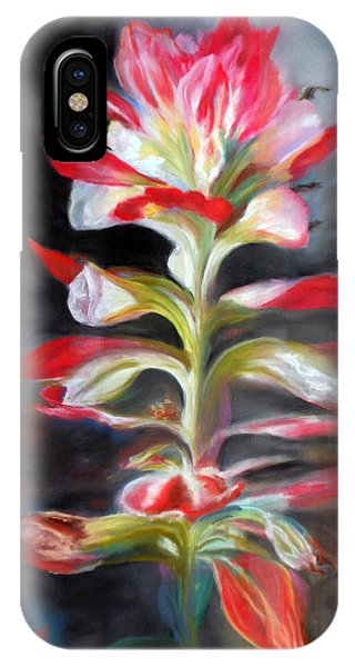 Texas Indian Paintbrush IPhone Case