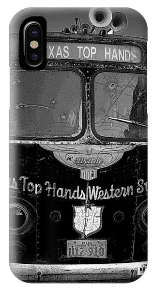Texas Top  Hands IPhone Case