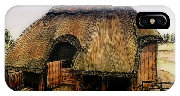Thatched Barn Of Old IPhone Case