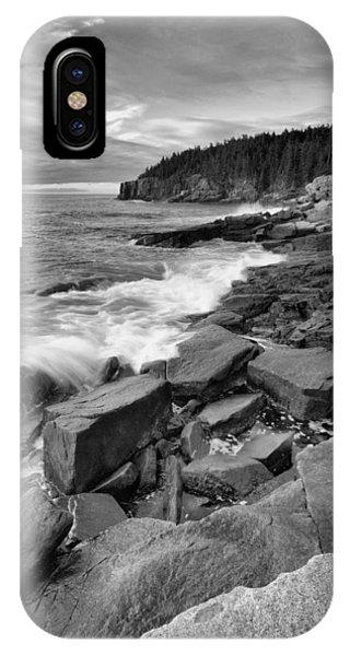 The Acadia Coastline IPhone Case