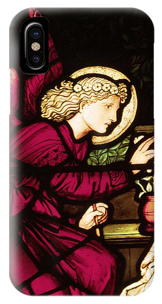 Pre-modern iPhone Case - The Annunciation by Philip Ralley
