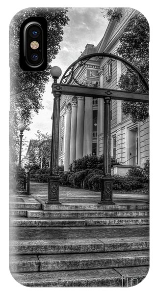 The Arch 5 University Of Georgia Arch Art IPhone Case