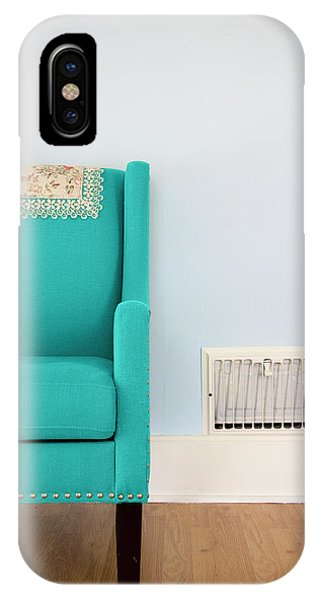The Blue Chair IPhone Case