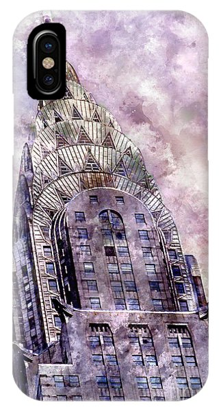 The Chrysler Building IPhone Case