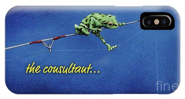 The Consultant... IPhone Case