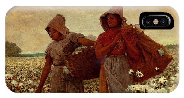 Homer iPhone Case - The Cotton Pickers by Winslow Homer