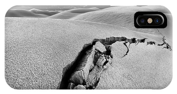 Sand iPhone Case - The Crack Of Dawn by Julian Cook