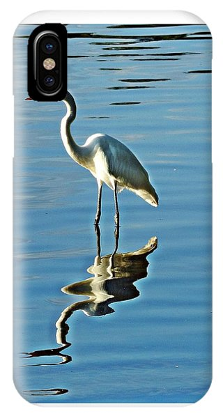 The Egret IPhone Case