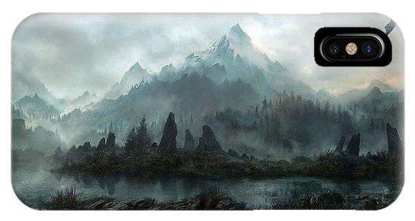 iPhone Case - The Elder Scrolls V Skyrim by Eloisa Mannion
