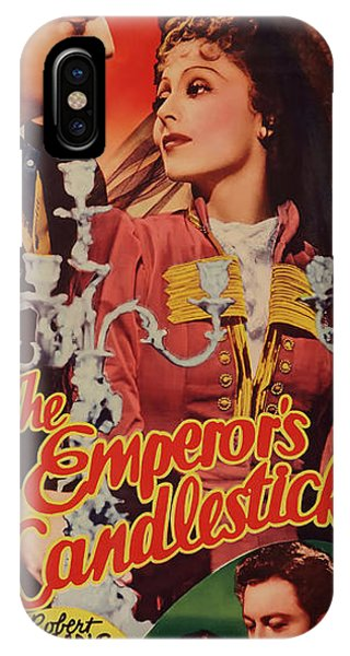 The Emperor's Candlesticks 1937 IPhone Case