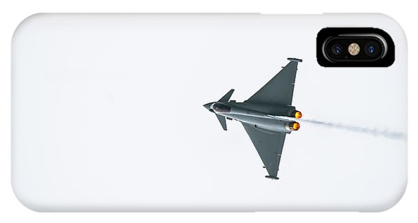 The Eurofighter Typhoon IPhone Case