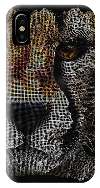 The Face Of A Cheetah IPhone Case