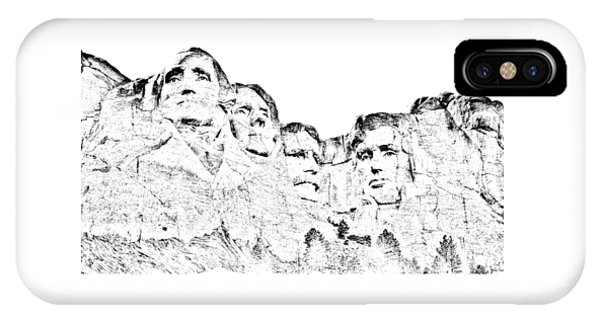 The Four Presidents IPhone Case