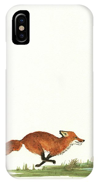Pelican iPhone Case - The Fox And The Pelicans by Juan Bosco