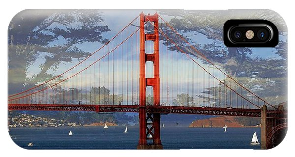 The Golden Gate Bridge  IPhone Case