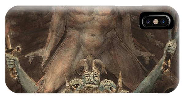 The Great Red Dragon And The Beast From The Sea IPhone Case