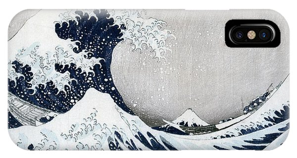 Surf iPhone Case - The Great Wave Of Kanagawa by Hokusai