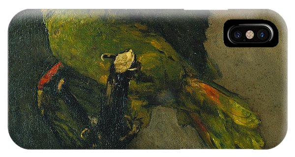 Parakeet iPhone Case - The Green Parrot by Vincent Van Gogh