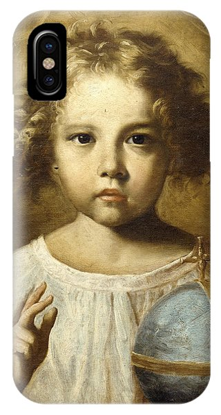 Shrouds iPhone Case - The Infant Jesus by Old master
