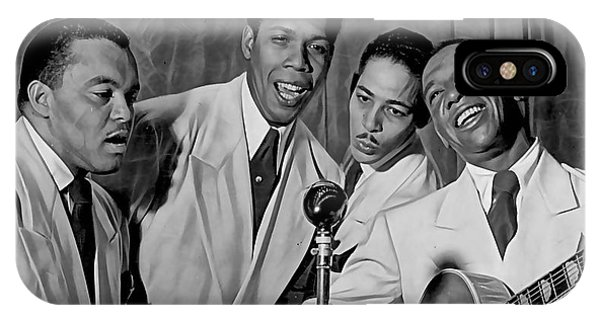 The Ink Spots Collection IPhone Case