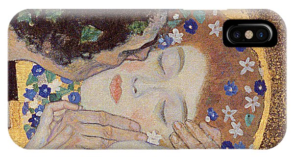 1862 iPhone Case - The Kiss by Gustav Klimt