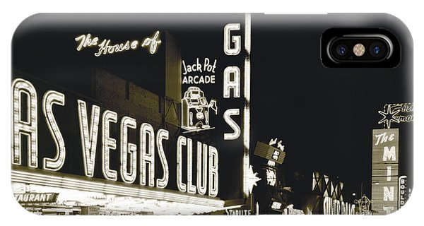 Culture Club iPhone Case - The Las Vegas Strip by Underwood Archives
