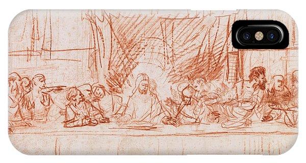 The Last Supper, After Leonardo Da Vinci IPhone Case