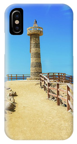 The Lighthouse In Salinas, Ecuador IPhone Case