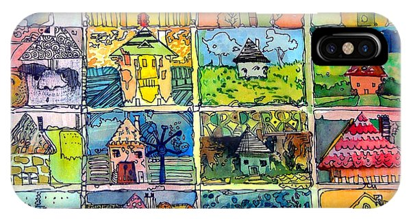 The Little Houses IPhone Case