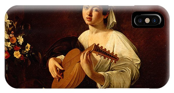 Music iPhone Case - The Lute-player by Caravaggio
