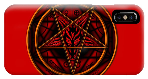 Worship iPhone Case - The Magick Circle by Pierre Blanchard