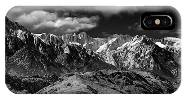 The Majestic Sierras IPhone Case