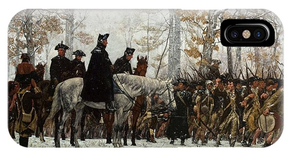 iPhone Case - The March To Valley Forge by William Trego