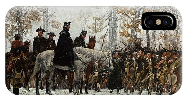 Cavalry iPhone Case - The March To Valley Forge by William Trego