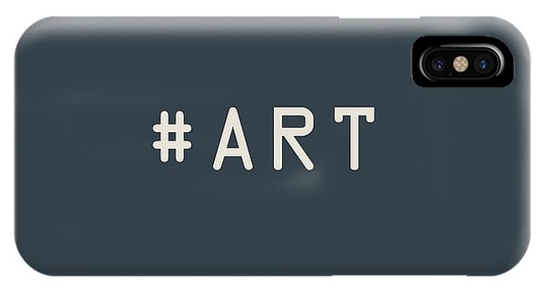 Pop Art iPhone Case - The Meaning Of Art - Hashtag by Serge Averbukh