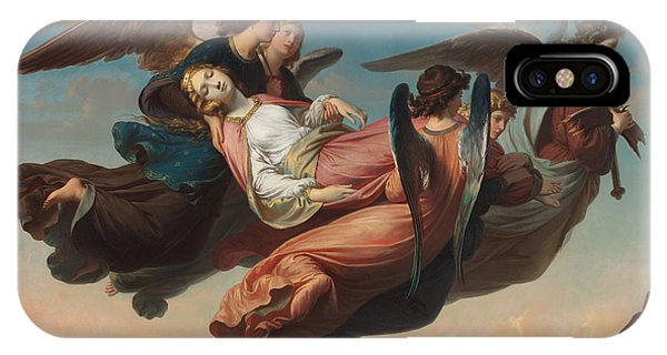 The Miraculous Translation Of The Body Of Saint Catherine Of Alexandria To Sinai IPhone Case