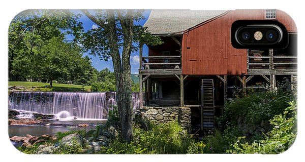 The Old Mill Museum. IPhone Case