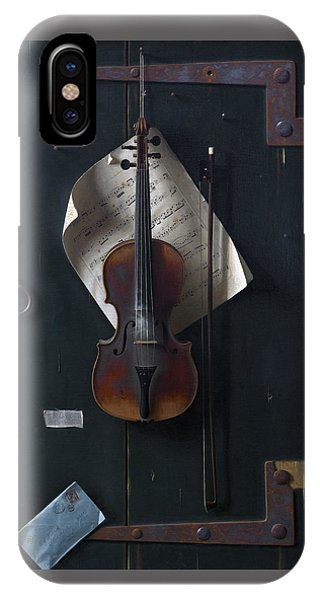 The Old Violin IPhone Case