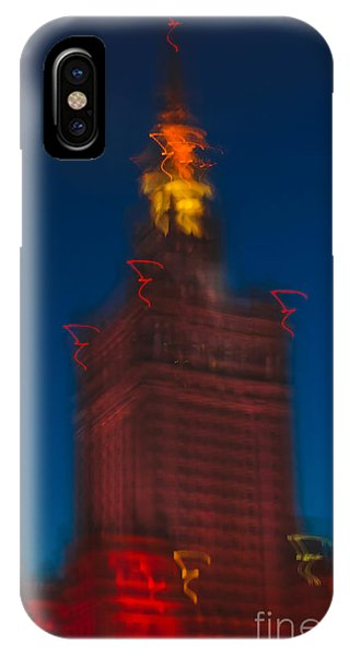 The Palace Of Culture And Science IPhone Case
