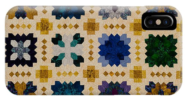 The Patchwork Of The Crosses IPhone Case
