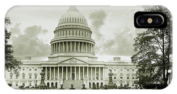 Whitehouse iPhone Case - The Presidents Club by Jon Neidert