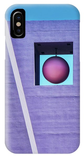 The Purple Tower At Pershing Square IPhone Case