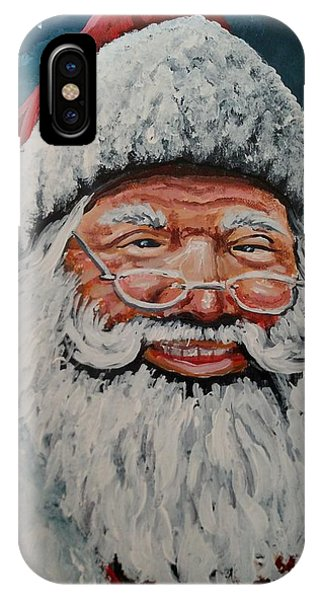 The Real Santa IPhone Case