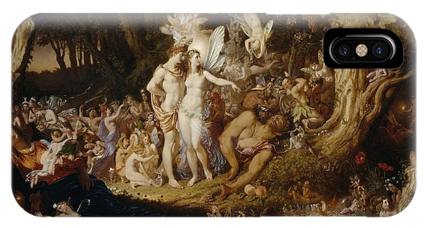 The Reconciliation Of Oberon And Titania IPhone Case
