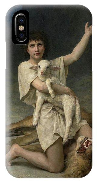 The Shepherd David Triumphant IPhone Case