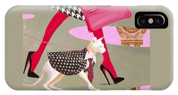 Designer iPhone Case - The Sphinx Of Paris by Victoria Fomina