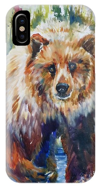 The Summer Bear IPhone Case