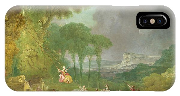 French Painter iPhone Case - The Swing  by Jean-Honore Fragonard