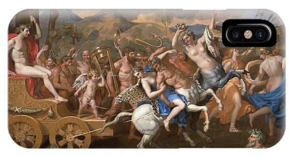 Centaur iPhone Case - The Triumph Of Bacchus by Nicolas Poussin